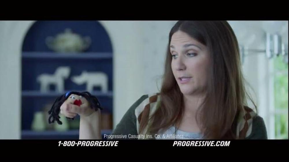 Progressive TV Spot, 'Hand Puppet'