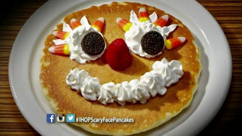 IHOP SCARY FACE PANCAKES 2019