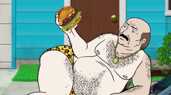 Carl's Jr. TV Spot, 'Aqua Teen Hunger Force and Fresh Baked Buns'