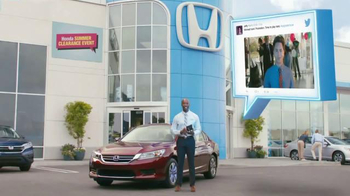 Honda Summer Clearance Event: 2015 Accord TV Spot, 'Promotion - Go Jeffy' thumbnail