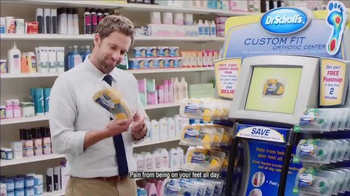 Dr. Scholl's Custom Fit TV Spot, 'School Teacher Back Pain'