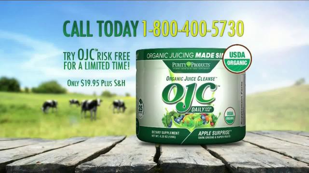 Purity Products Organic Juice Cleanse Tv Commercial Stay