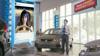 Honda Summer Clearance Event: 2015 Civic LX TV Spot, Long Relationship thumbnail