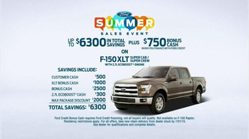 Ford Summer Sales Event TV Spot, 'Can't Stop Talking' Song by Neon Trees thumbnail