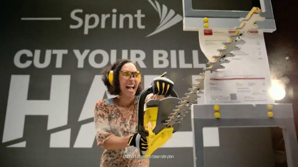 Sprint Cut Your Bill in Half TV Spot, 'How Much Will You Save?' thumbnail