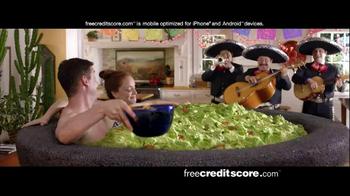 FreeCreditScore.com Score Planner TV Spot, 'Guacamole Tub' thumbnail