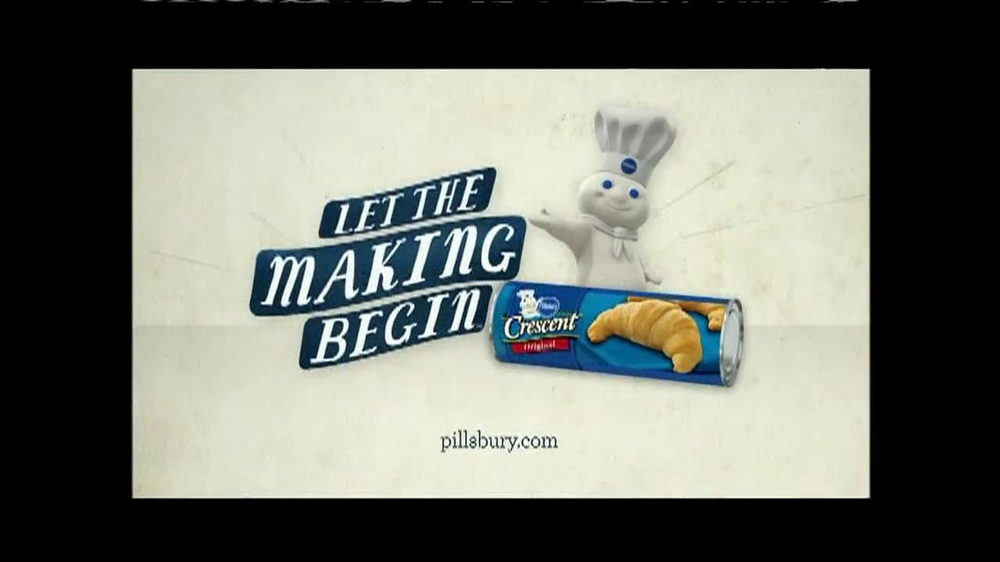 Pillsbury Crescents TV Spot, 'Crescent Pizza Pocket' - Screenshot 8