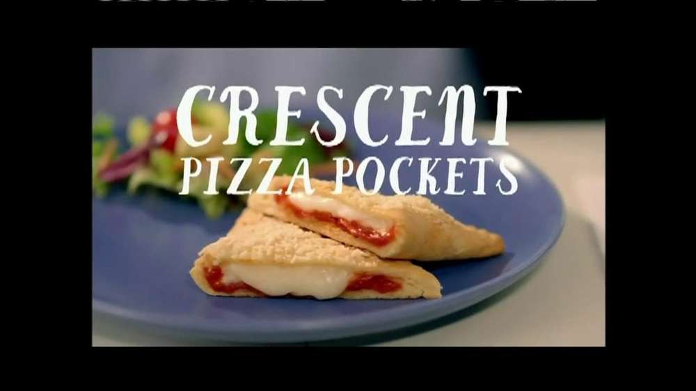 Pillsbury Crescents TV Spot, 'Crescent Pizza Pocket' - Screenshot 7