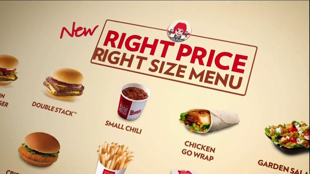 Wendy's Right Price, Right Size Menu TV Spot, 'Saving a Few Bucks' - Screenshot 6