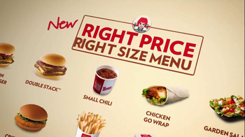 Wendy's Right Price, Right Size Menu TV Spot, 'Saving a Few Bucks' - Thumbnail 6