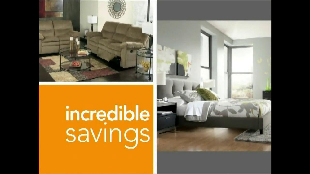 Ashley Furniture Homestore National Sale Tv Commercial