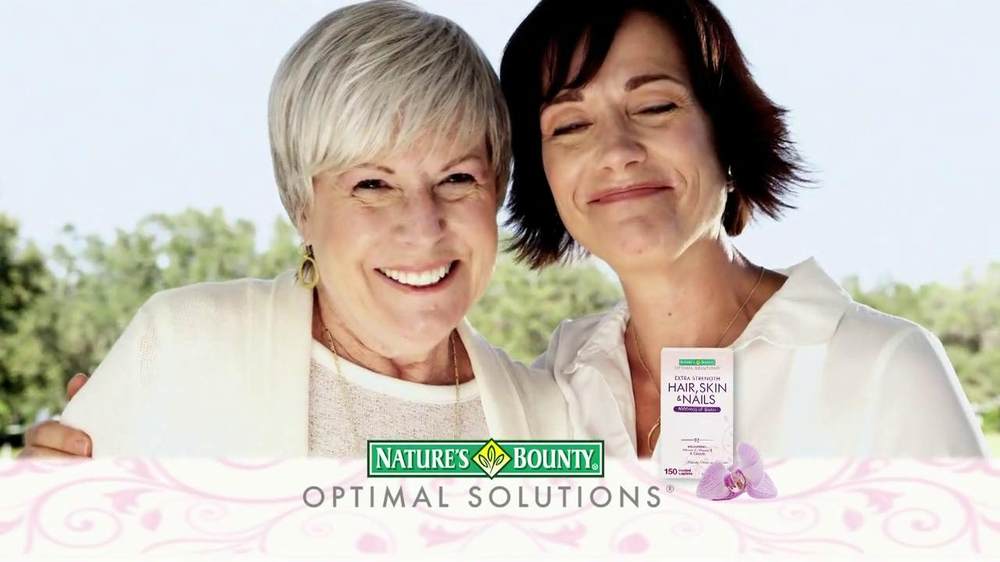 Nature S Bounty Hair Skin And Nails Commercial