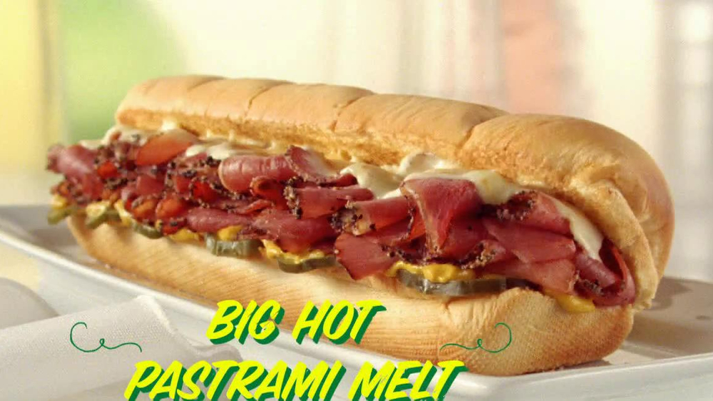 Subway Big Hot Pastrami Melt TV Spot, 'Perfect Pastrami' - Screenshot 2