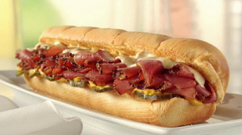 Subway Big Hot Pastrami Melt TV Spot, 'Perfect Pastrami' - Thumbnail 9