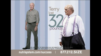 Nutrisystem TV Spot Feat. Terry Bradshaw, Jillian Barbarie