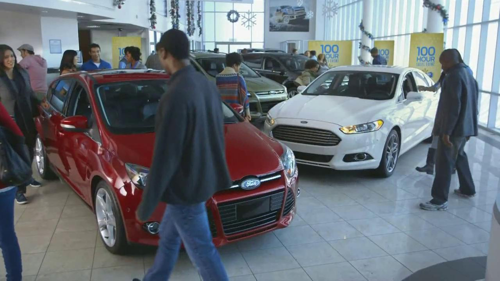Nissan Year End Clearance Ford Year End Celebration TV Spot, '100 Hours' - Screenshot 6