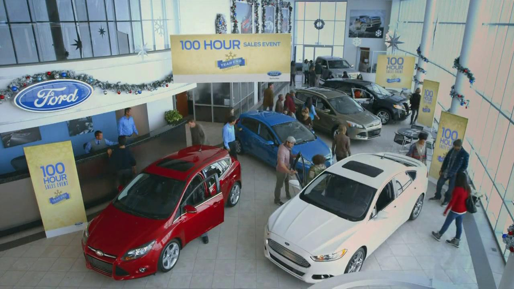 Ford Year End Celebration Event