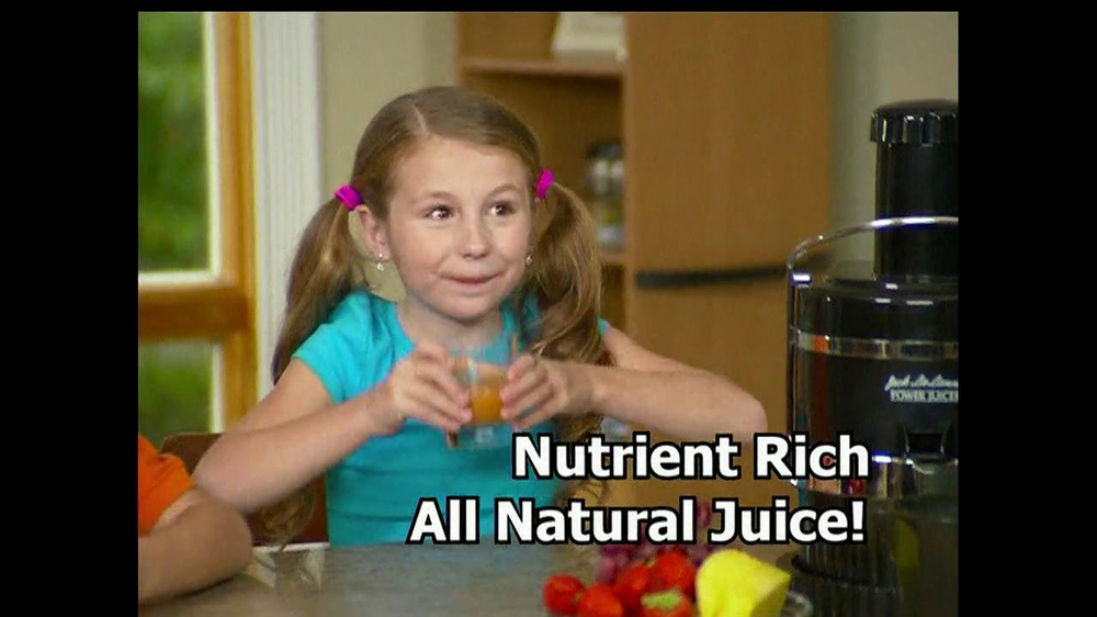 Jack Lalanne's Power Juicer TV Spot, 'Artificial Sweetners' - Screenshot 10
