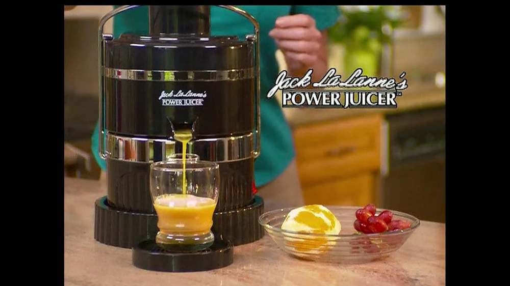 Jack Lalanne's Power Juicer TV Spot, 'Artificial Sweetners' - Screenshot 3
