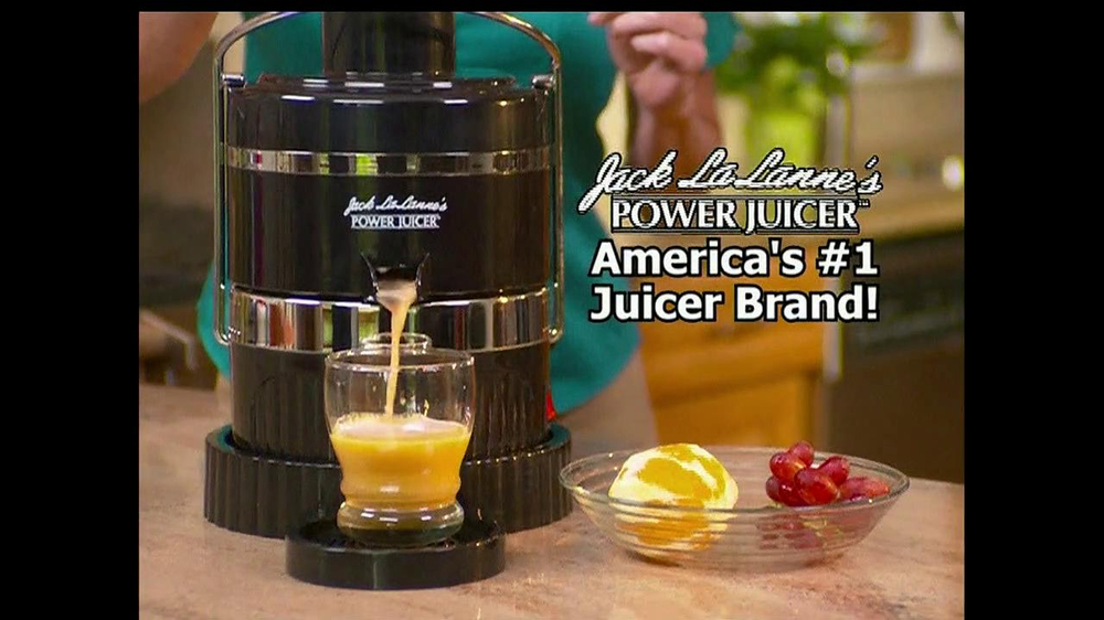Jack Lalanne's Power Juicer TV Spot, 'Artificial Sweetners' - Screenshot 4