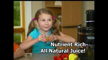 Jack Lalanne's Power Juicer TV Spot, 'Artificial Sweetners' - Thumbnail 10