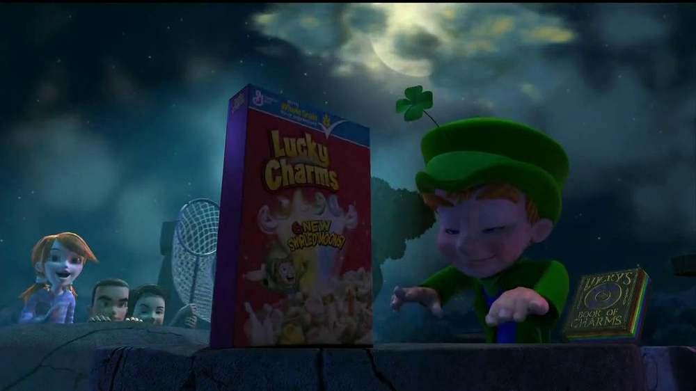 Lucky Charms TV Spot 'Swirled Moons' - Screenshot 1