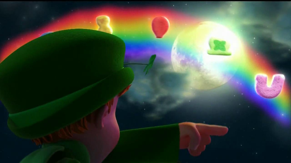 Lucky Charms TV Spot 'Swirled Moons' - Screenshot 2