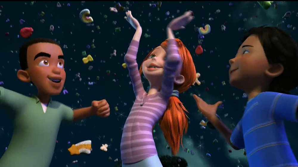 Lucky Charms TV Spot 'Swirled Moons' - Screenshot 7