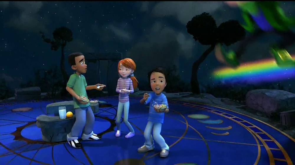 Lucky Charms TV Spot 'Swirled Moons' - Screenshot 9