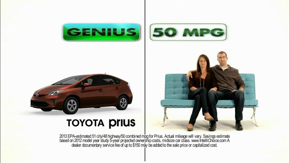 2013 Toyota Prius TV Spot, 'Roxanne and Joe' - Screenshot 5