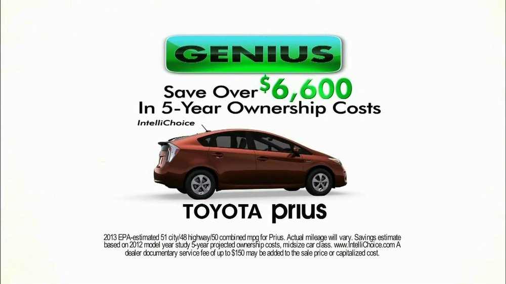 2013 Toyota Prius TV Spot, 'Roxanne and Joe' - Screenshot 7