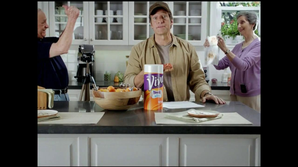 Viva Towels Tough When Wet TV Spot, 'Kitchen' Featuring Mike Rowe - Screenshot 7