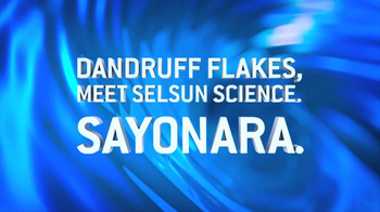 Selsun Blue Shampoo and Scrub TV Spot, 'Sayonara'