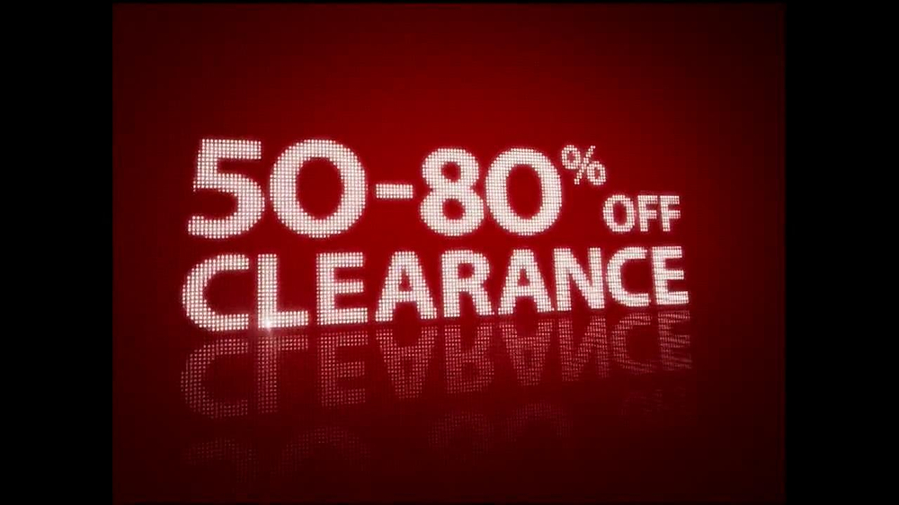 Macy 39 s 1 day sale tv commercial 39 october 20 39 for Macy s jewelry clearance