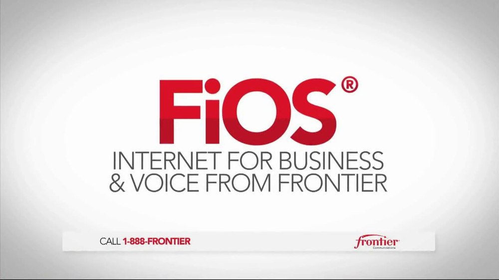 Frontier Internet for Business and Voice TV Spot, 'Small-Business ...