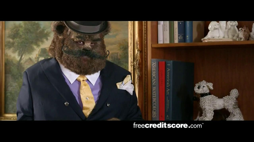 FreeCreditScore.com TV Spot, 'Fancy Bear Slider' thumbnail
