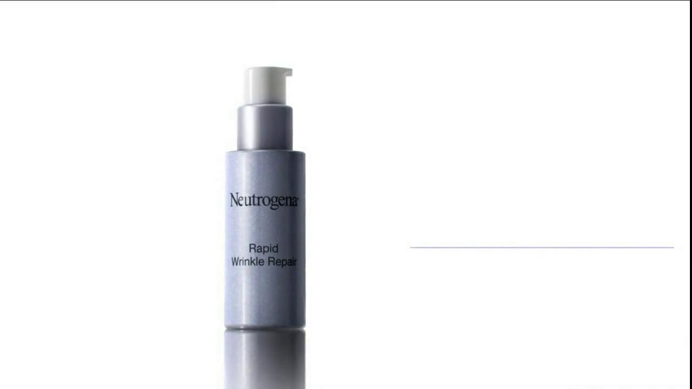 Neutrogena Rapid Wrinkle Repair TV Spot, 'Cobwebs' Featuring Diane Lane - Screenshot 8