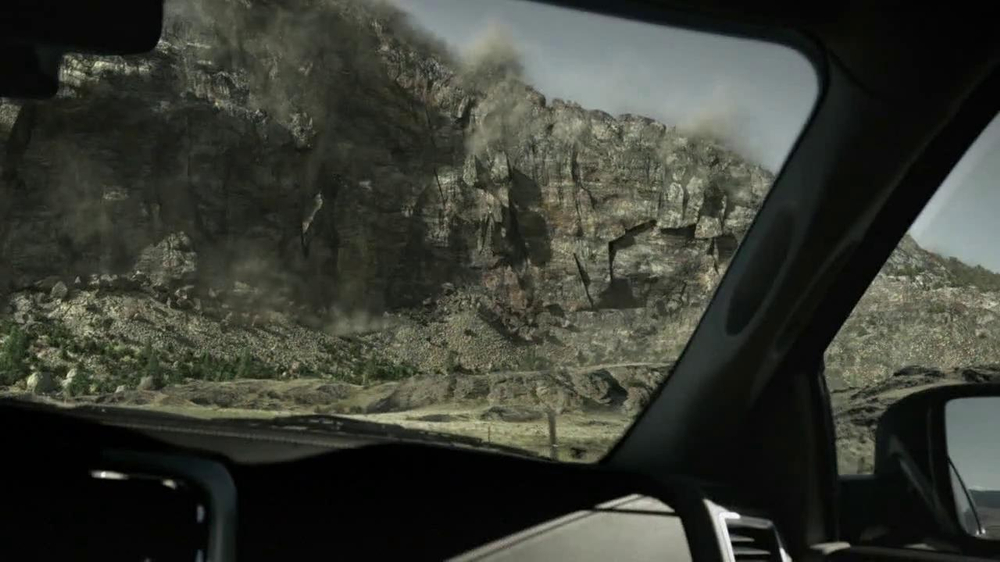 2013 Ram 1500 TV Spot, 'Earth Split' Featuring Sam Elliott - Screenshot 8