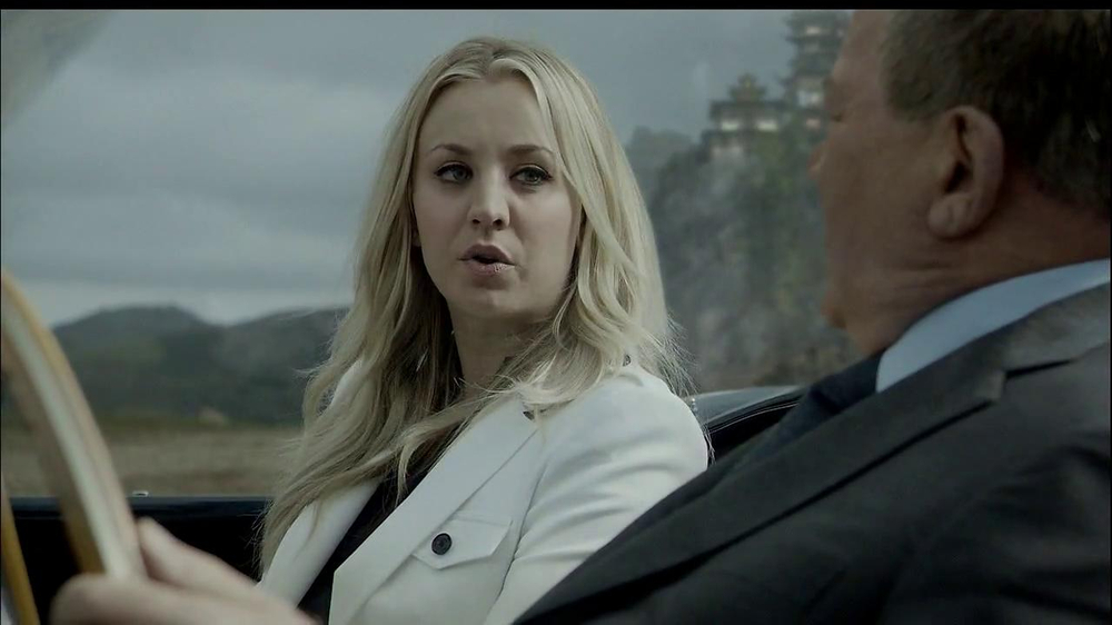 Priceline.com TV Spot, 'The Daughter' Feat. William Shatner, Kaley Cuoco - Screenshot 5