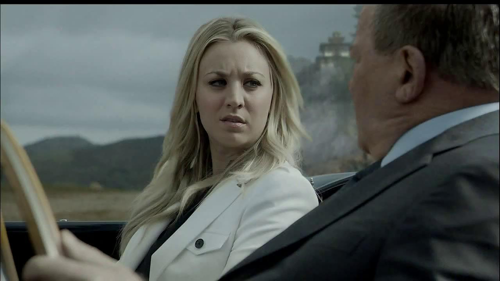 Priceline.com TV Spot, 'The Daughter' Feat. William Shatner, Kaley Cuoco - Screenshot 6