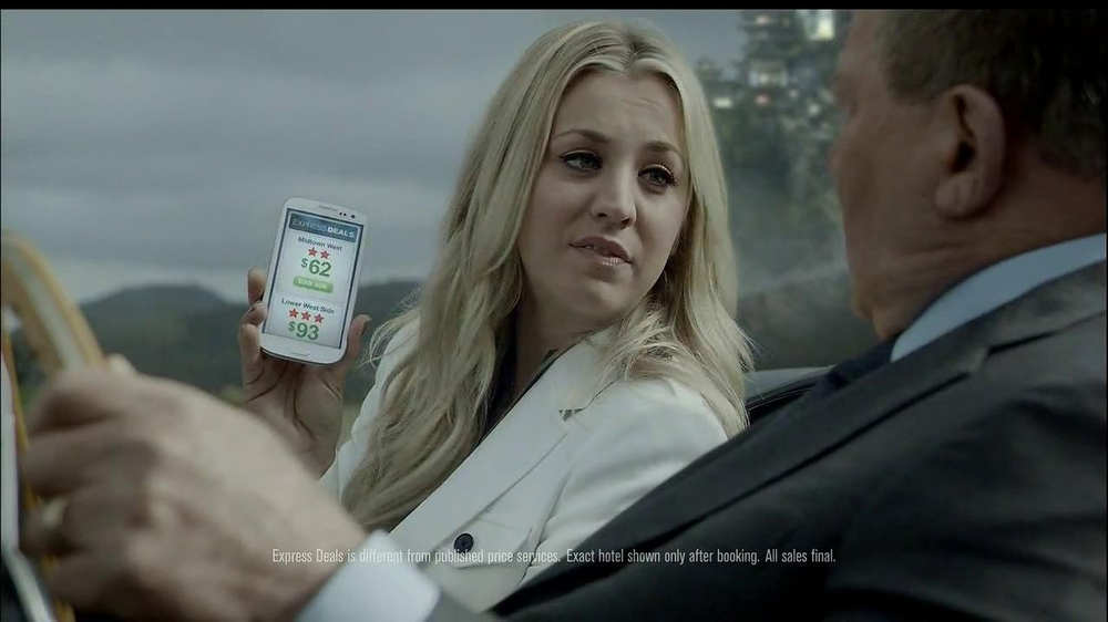 Priceline.com TV Spot, 'The Daughter' Feat. William Shatner, Kaley Cuoco - Screenshot 7