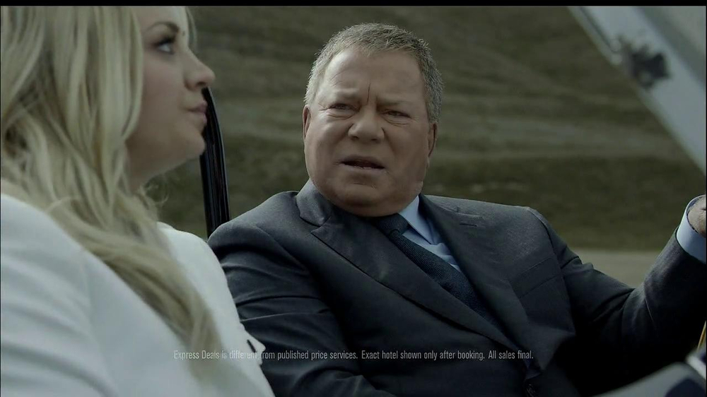 Priceline.com TV Spot, 'The Daughter' Feat. William Shatner, Kaley Cuoco - Screenshot 8