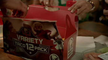 Taco Bell Variety 12 Pack TV Spot, 'Veggies' - Thumbnail 4