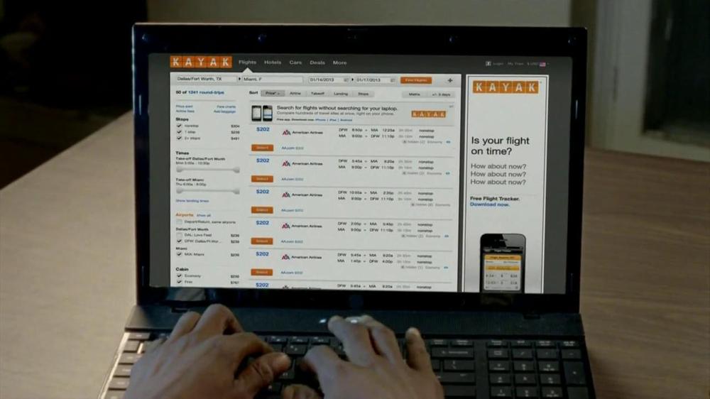 Kayak TV Spot, 'Second Head' - Screenshot 4