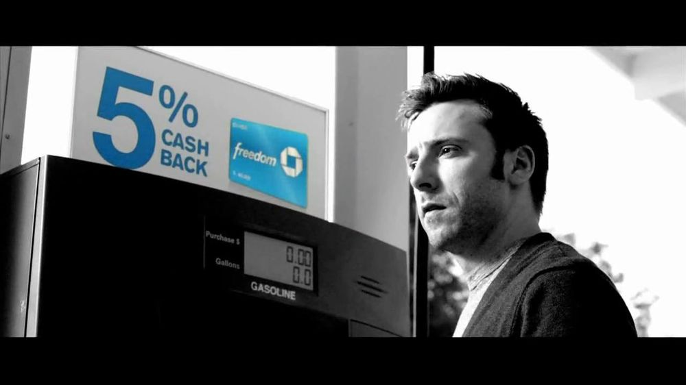 Chase Freedom TV Spot, '5% Back on Gas' Original Song by Kenny Loggins - Screenshot 2