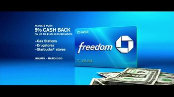 Chase Freedom TV Spot, '5% Back on Gas' Original Song by Kenny Loggins - Thumbnail 7