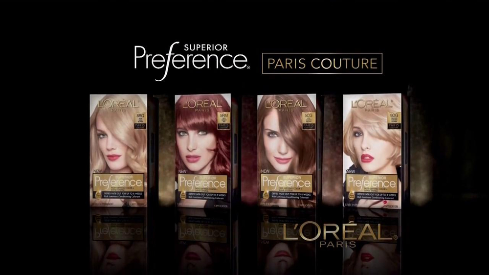 L'Oreal Superior Preference Paris Couture TV Spot - Screenshot 3