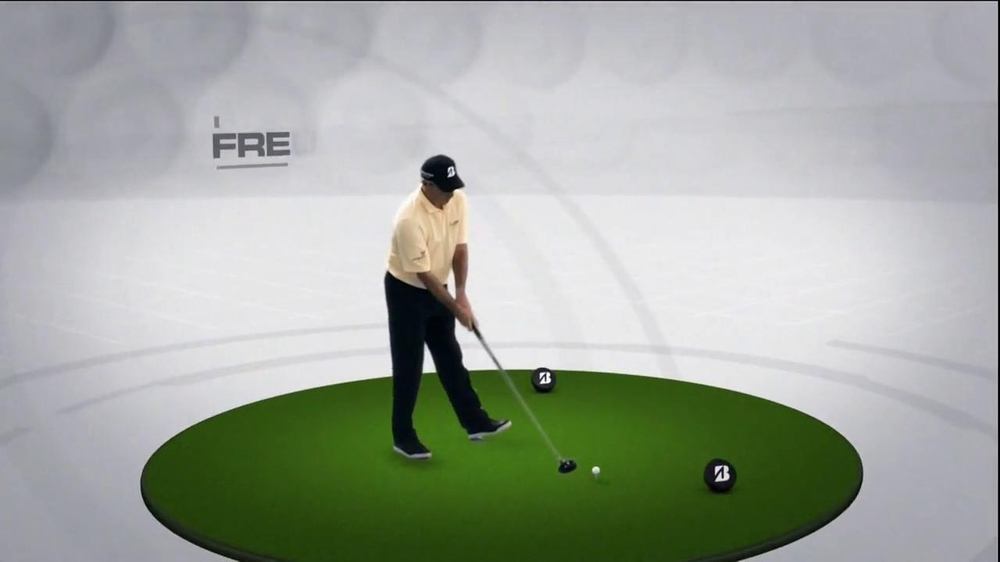 Bridgestone B330-RX TV Spot, 'Bridge the Gap' Featuring Fred Couples - Screenshot 1