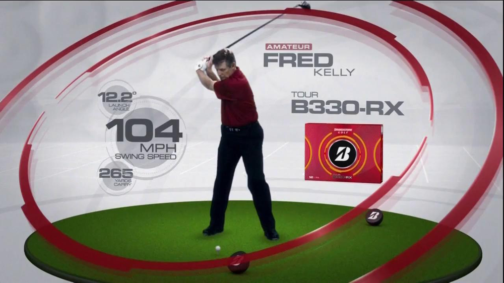 Bridgestone B330-RX TV Spot, 'Bridge the Gap' Featuring Fred Couples - Screenshot 6