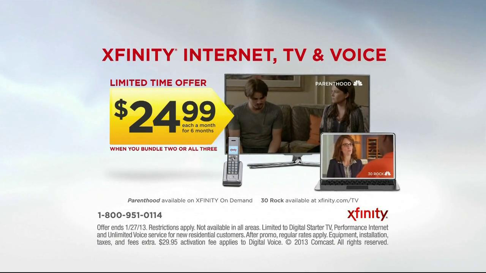 Xfinity Tv Ad Comcast/Xfinity TV Com...